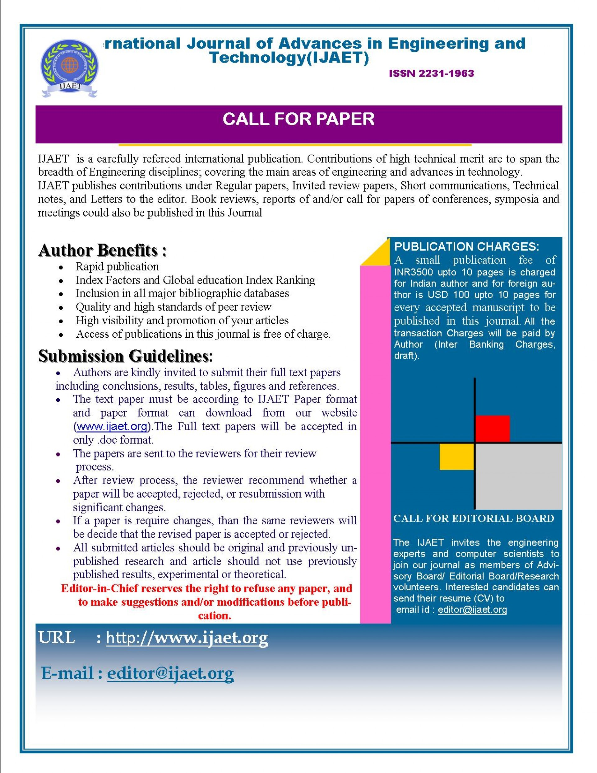 029 How To Publish Research Paper In International Journal Free Pdf Cfp Unusual 1920