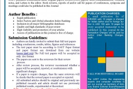 029 How To Publish Research Paper In International Journal Free Pdf Cfp Unusual