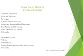 029 Research Paper Credible Sources For High School Slide 3 Singular